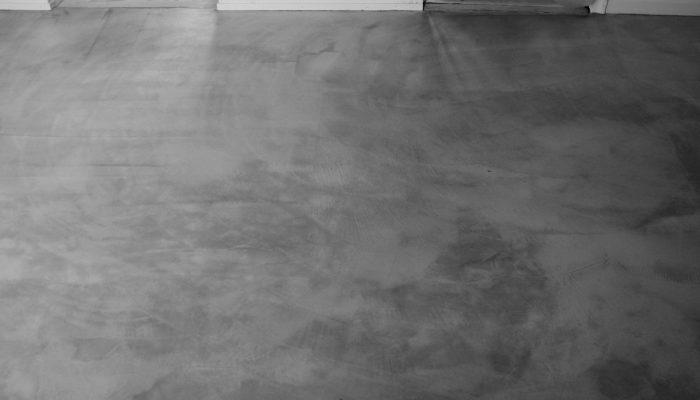Zoom ind på microcement gulv